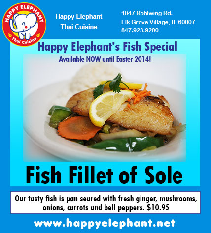 Happy Elephant Fish Fillet of Sole