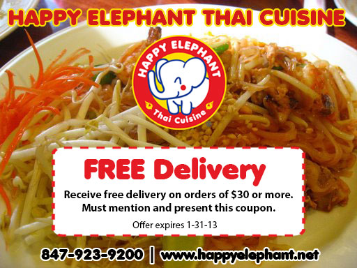 Happy Elephant Delivery