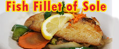 Fish fillet of Sole